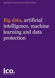 learning and data protection