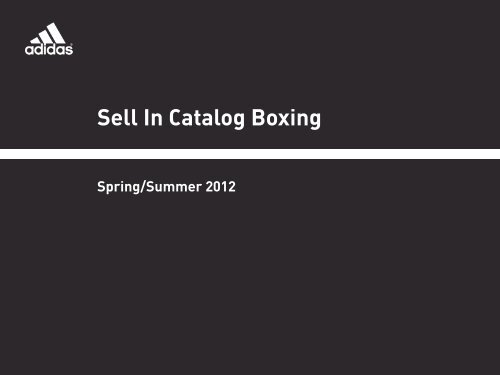 Sell In Catalog Boxing
