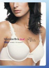 télécharger le catalogue des modèles - WonderBra