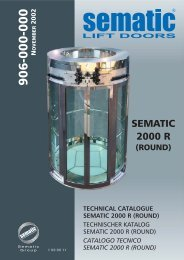 technical catalogue sematic 2000 r