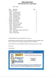 Wairau Valley School Stationery list 2012 ... - Warehouse Stationery