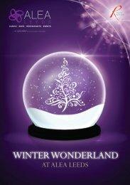 Winter Wonderland Christmas Brochure - Alea Leeds - Alea Casinos