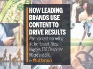 HOW LEADING BRANDS USE CONTENT TO DRIVE RESULTS