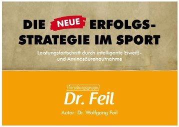 DIE ERFOLGS- STRATEGIE IM SPORT - Forschungsgruppe Dr. Feil