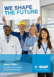 Annual Report 2008 - BASF