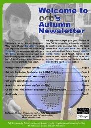 Autumn 2010 - ORB Community Arts