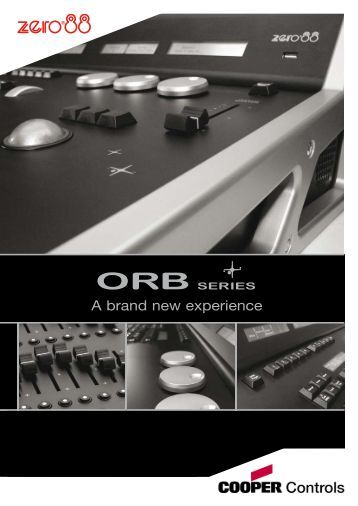 A brand new experience - ORB Series from Zero 88