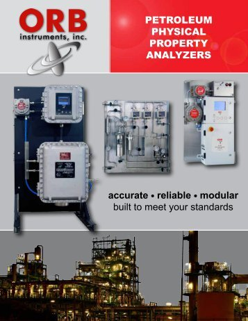 P-700 rvP analyzer - OrbInstruments.com