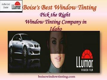 Residential Window Tinting Idaho|Boise Window Tinting