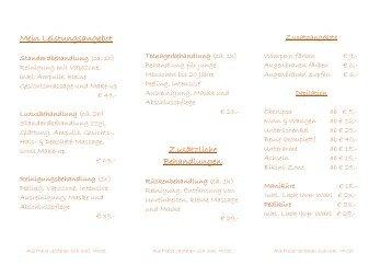 Hargarten Kosmetik_Flyer