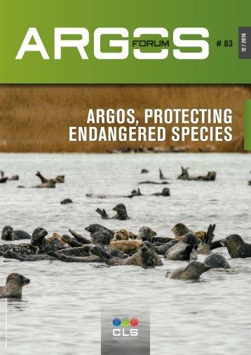 ARGOS PROTECTING ENDANGERED SPECIES