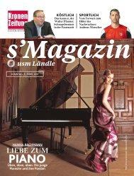 s'Magazin usm Ländle, 5. März 2017