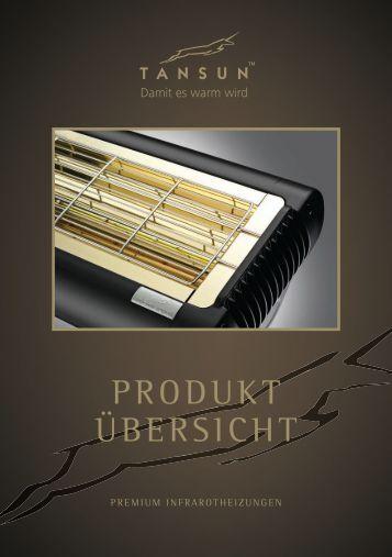 Tansun Produkte 2017