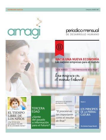 Periódico Amagi Desarrollo Humano Marzo 2017