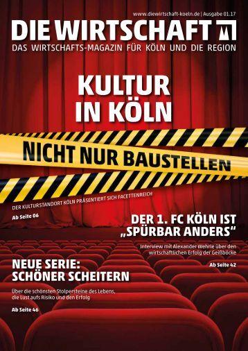 Die Wirtschaft Köln Ausgabe 01 / 2017