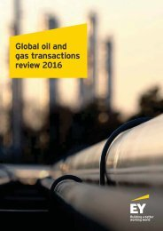 Global oil and gas transactions review 2016