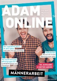 Adam online Nr. 50 Vorschau