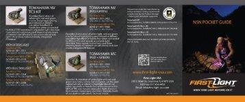 TOMAHAWK NV TC3 KIT - First-Light USA