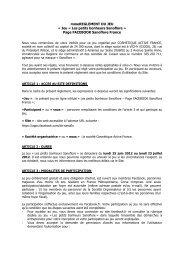 Article 1 : Société organisatrice