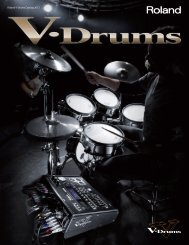 Roland V-Drums Catalog 2012 - Roland Scandinavia a/s