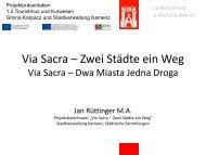 Projektpräsentation im Vorhabensbereich 1.2 Tourismus und ...