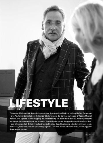 TOP Magazin 03|2011 - Insa stylt Manfred Kossack - Candrix, Insa