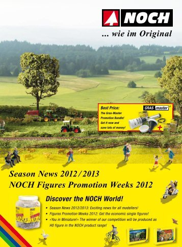 Take part and become a 1:87 scale figure of the NOCH range!