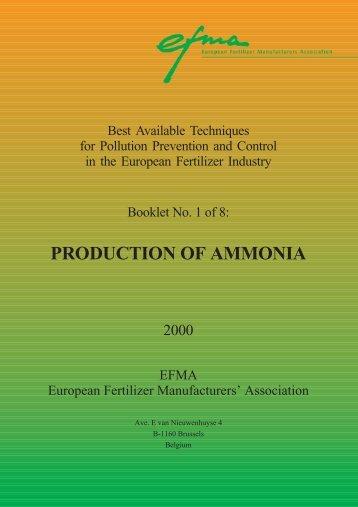 PRODUCTION OF AMMONIA - OCI Nitrogen