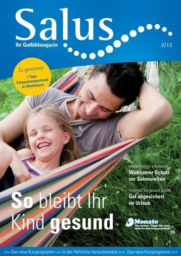 Ihr Gutfühlmagazin Ausgabe 2-2012 - Salus BKK
