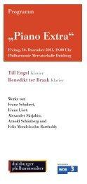4. Kammerkonzert So 15. Januar 2012, 19.00 Uhr - Die Duisburger ...