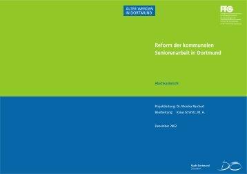 Reform der kommunalen Seniorenarbeit in Dortmund - WHH