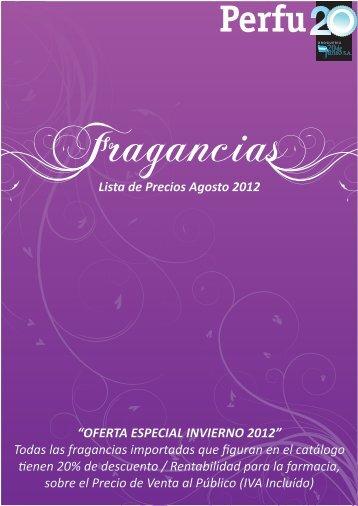 """Lista de Precios Agosto 2012 """"OFERTA ... - Drogueria 20 de Junio"""