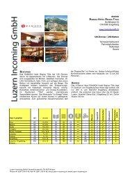 Ramada Hotel Regina Titlis - Luzern Incoming