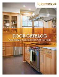 DOOR CATALOG - Kitchen Tune-Up