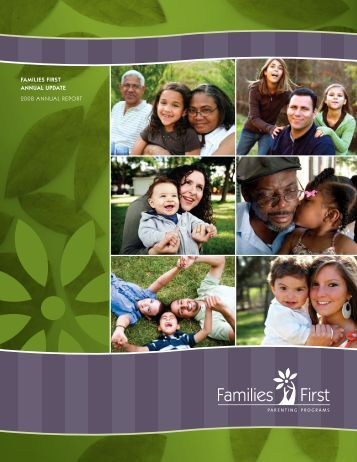 2008 Annual Report - Families First Parenting Programs