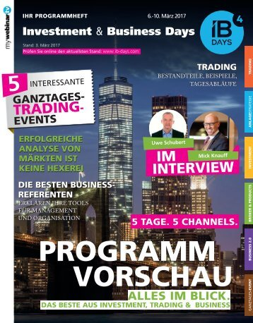 GANZTAGES-EVENT