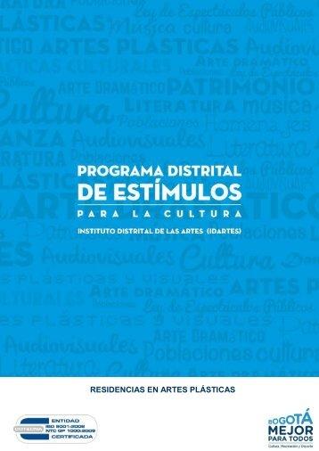 RESIDENCIAS EN ARTES PLÁSTICAS