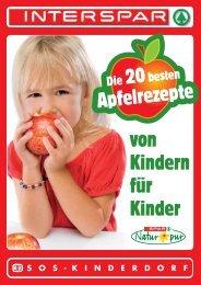 Apfelrezepte von Kindern für Kinder - SOS Kinderdorf