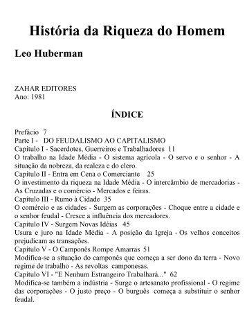 LEO_HUBERMAN_-_HISTÓRIA_DA_RIQUEZA_DO_HOMEM