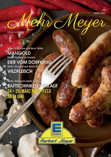ePaper EDEKA Meyer März 2017