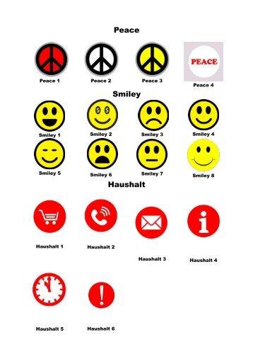 Prä-Peace-Smiley-Haushalt