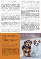 Tierheim Franziskus Informationsflyer - Seite 2