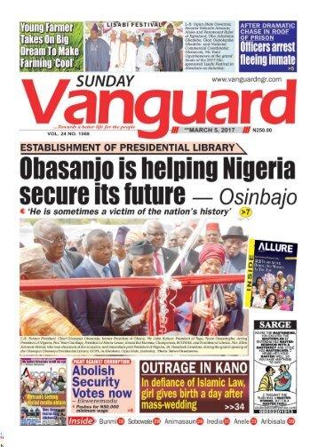 05032017 - Obasanjo is helping Nigeria secure its future