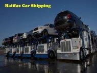 Halifax Car Shipping