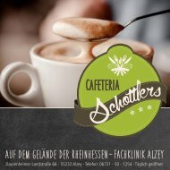 Speisekarte Cafeteria Alzey