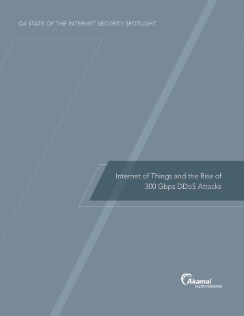 Internet of Things and the Rise of 300 Gbps DDoS Attacks
