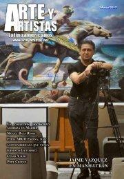 Revista Arte y Artistas, edición marzo 2017