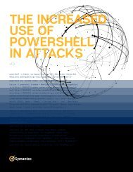THE INCREASED USE OF POWERSHELL IN ATTACKS