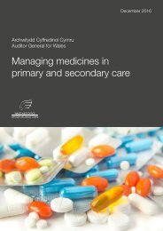 Managing medicines in primary and secondary care