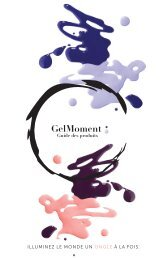GelMoment-product-guide-2017-edition1 (FRENCH)